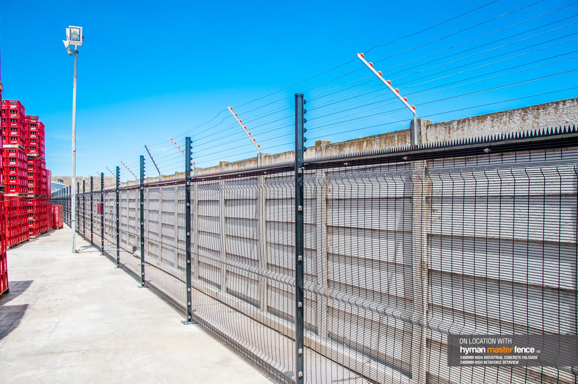 betafence coca cola high security fence hyman master fence. Black Bedroom Furniture Sets. Home Design Ideas